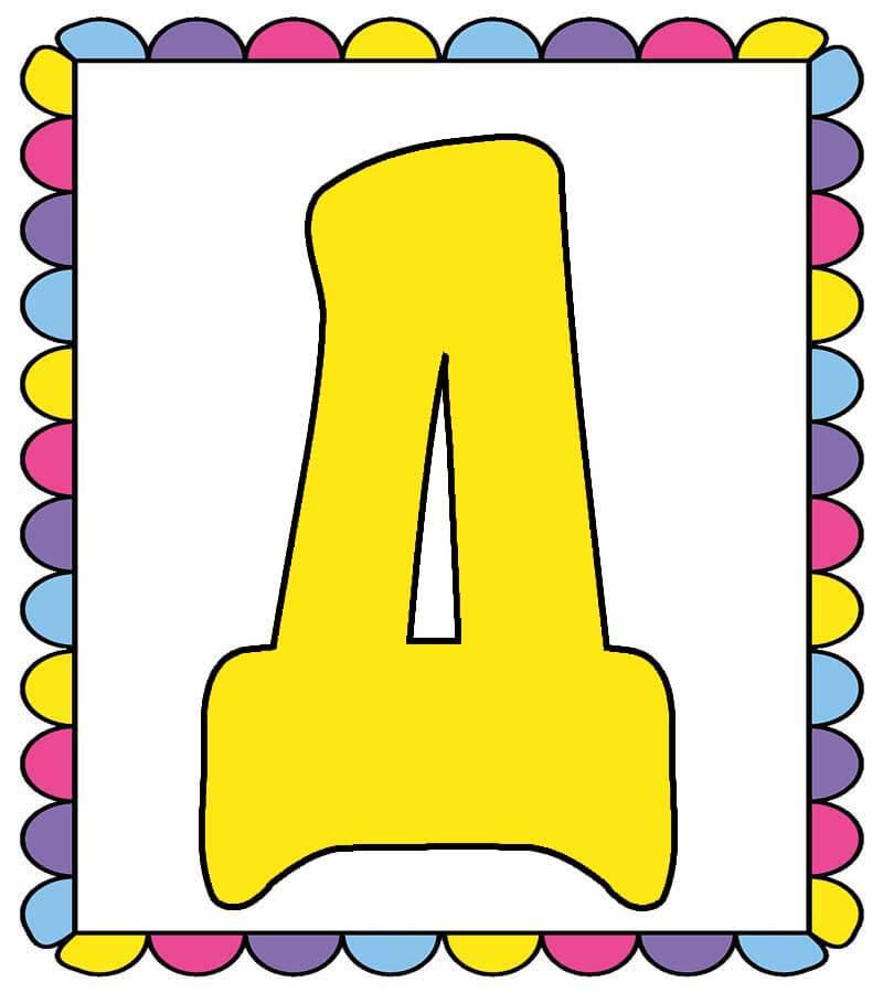 Растяжка/гирлянда С Днем дошкольного работника распечатать