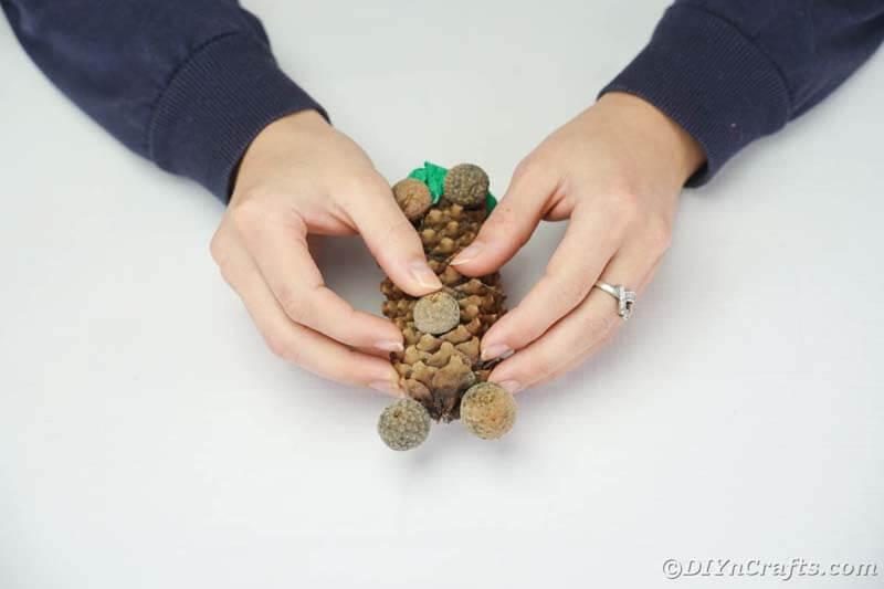 Поделки из шишек своими руками для 1 класса